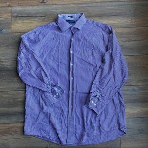 {preloved} Men's Tommy Hilfiger Purple Button Down